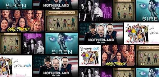 freeform top shows